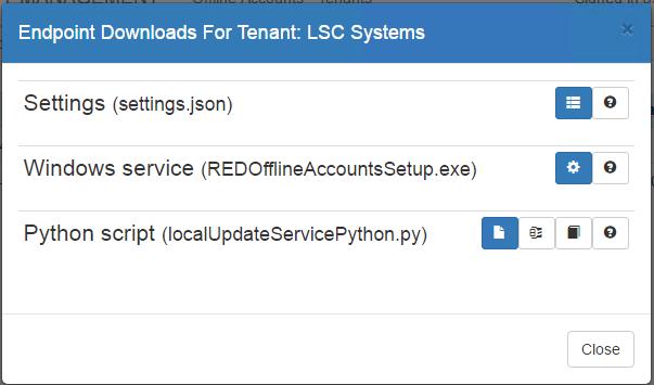 Configure Endpoint Clients