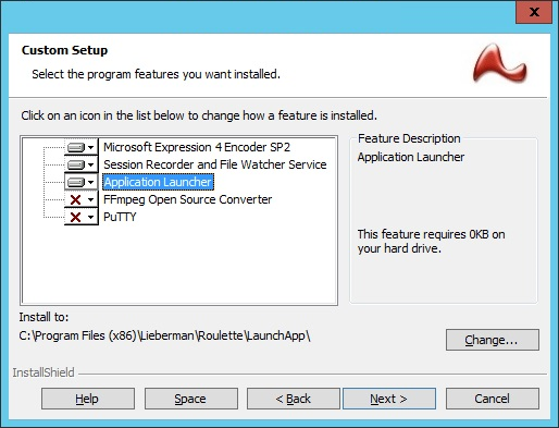Install the Application Launcher and Session Recording Software