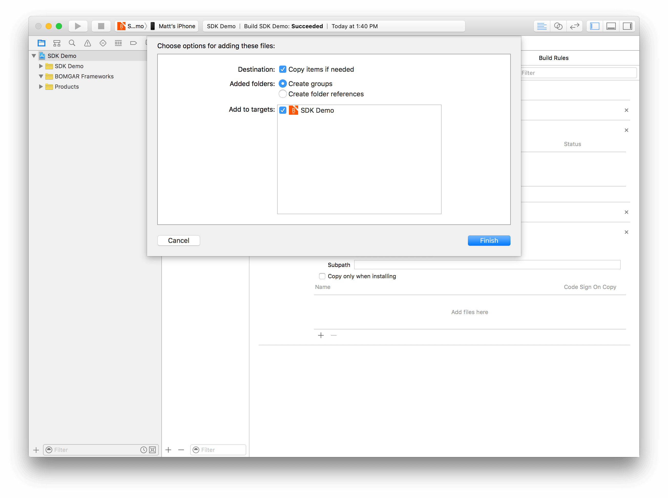 Getting Started with the iOS SDK
