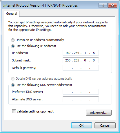 Initial Network Configuration During Appliance Setup