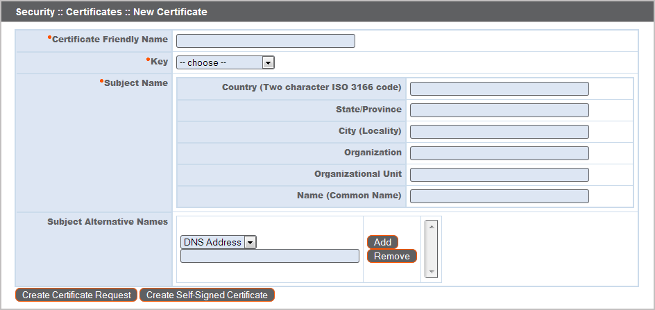 Create a Certificate Signed by a Certificate Authority
